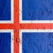 Icelandic flag — Stock Photo #15389019