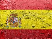 Španělská vlajka — Stock fotografie