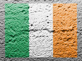 The irish flag — Stock Photo