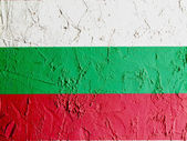 The Bulgarian flag — Stock Photo