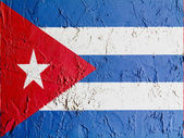 The Cuban flag — Foto de Stock
