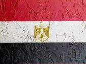 Mısır bayrağı — Stok fotoğraf