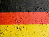 The German flag — Stok fotoğraf