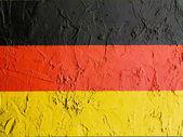 Německá vlajka — Stock fotografie