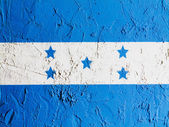 The Honduran flag — Stock Photo