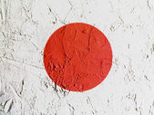 The Japan flag — Stok fotoğraf