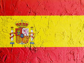 The Spanish flag — Stockfoto