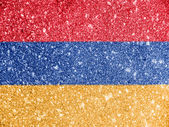 The Armenian flag — Foto de Stock