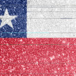 Chile flag — Stock Photo #15390553