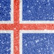Icelandic flag — Stock Photo #15390917