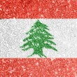 Lebanese flag — Stock Photo #15391113