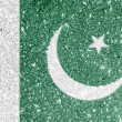 Pakistani flag — Stockfoto #15391231