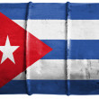 The Cuban flag - Stock Photo