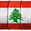 Lebanese flag — Stock Photo #15392293