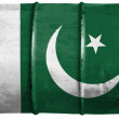 The Pakistani flag — Stock Photo #15392401