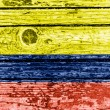 Stock Photo: Colombiflag