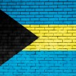 The Bahamas flag — Stock Photo