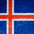 Stock Photo: Icelandic flag