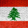 Lebanese flag — Stock Photo #15395051