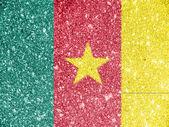 Kamerunischer flagge — Stockfoto