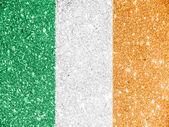 ирландский флаг — Стоковое фото