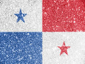 The Panama flag — Stockfoto