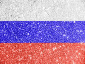 The Russian flag — Foto de Stock