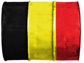 Belgická vlajka — Stock fotografie