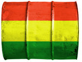 The Bolivian flag — Foto Stock