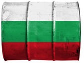 The Bulgarian flag — Stockfoto