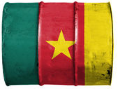 The Cameroonian flag — Foto Stock