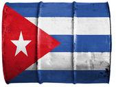 кубинский флаг — Стоковое фото