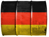 The German flag — Foto de Stock