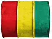The Guinean flag — Foto Stock