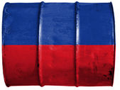 The Haitian flag — Foto de Stock