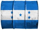 Honduraské vlajka — Stock fotografie