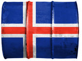The Icelandic flag — Foto de Stock