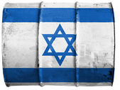 The Israeli flag — Stock Photo