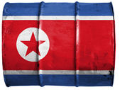 The North Korea flag — ストック写真