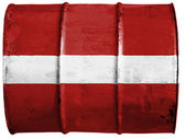 The Latvian flag — Foto Stock