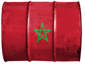 The Moroccan flag — Foto Stock