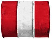 Vlajka peru — Stock fotografie