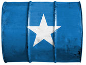 The Somalia flag — Foto de Stock