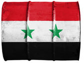 The Syria flag — 图库照片