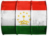 The Tajik flag — Foto de Stock