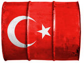 The Turkish flag — Stock Photo