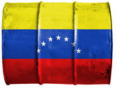 The Venezuelan flag — Stock Photo