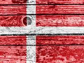 La bandiera danese — Foto Stock