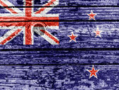 The New Zealand flag — Stockfoto