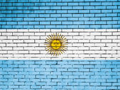 The Argentine flag — Stockfoto